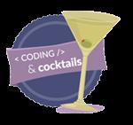 Coding & Cocktails Logo