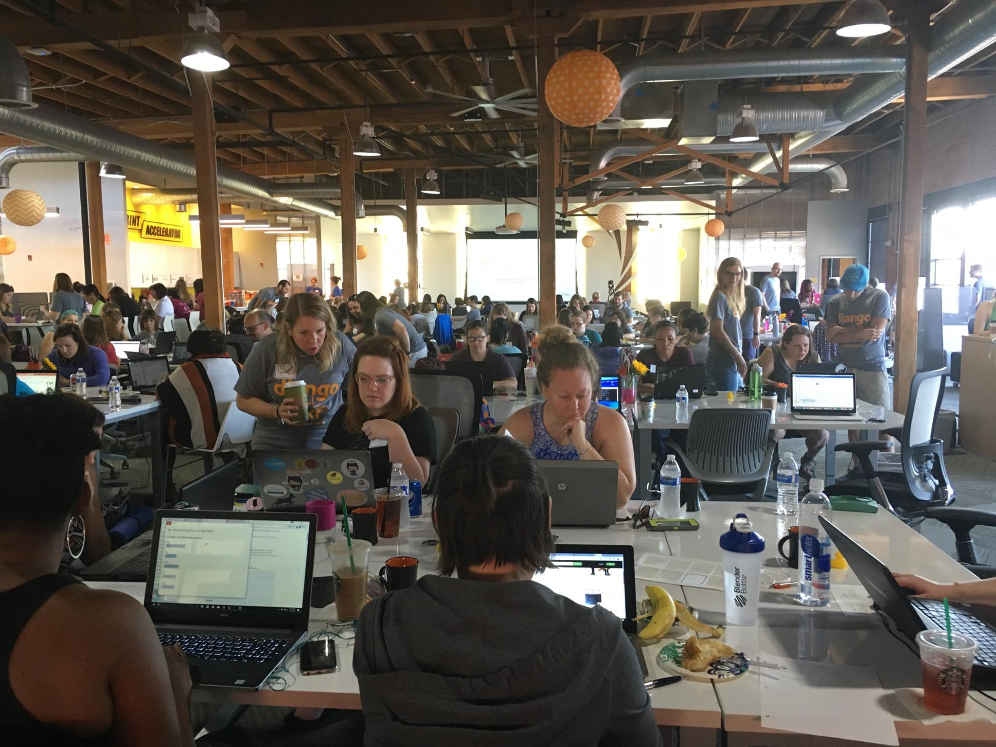 DjangoGirls KC Workshop Event